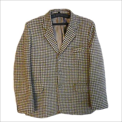 Mens Checked Coats