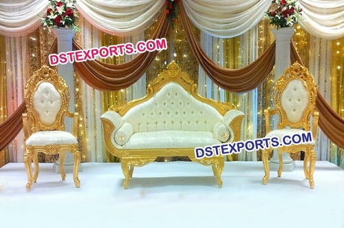 Latest Designer Wooden Carved Sofa Set