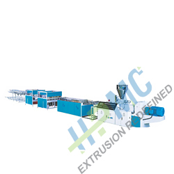 PVC Conduit Pipe Extruder(Four Pipes)