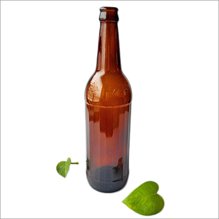 600ml Amber Glass Beer Bottle
