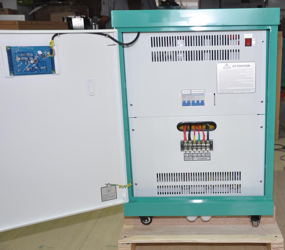 Single phase 240V to 3 phase 415VAC 50Hz Converter