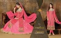 Sparkle Pink Color Salwar Suits