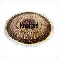Knotted Round Rugs