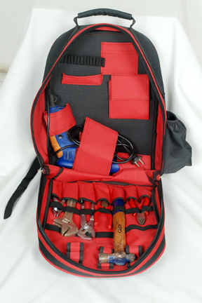 Heavy Duty Tool Backpack