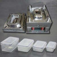 Plastic food container moulds