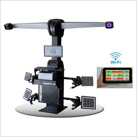 Professional 2 Camera 3D Robotic Wheel Aligner - PRECISION