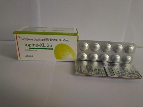 Metoprolol Succinate USP-25 (SR)