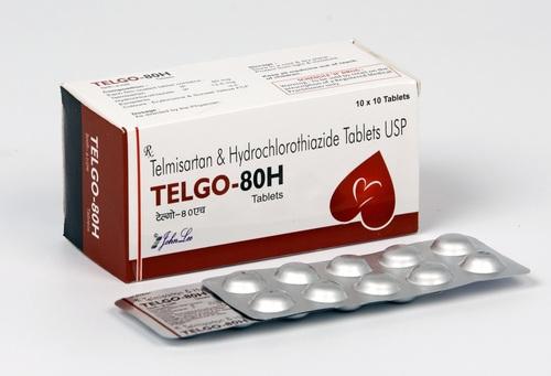 Telmisartan 80mg + hydrochlorthiazide 12.5mg