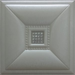 Pearl White Leather Tiles