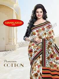 Premium Cotton Saree