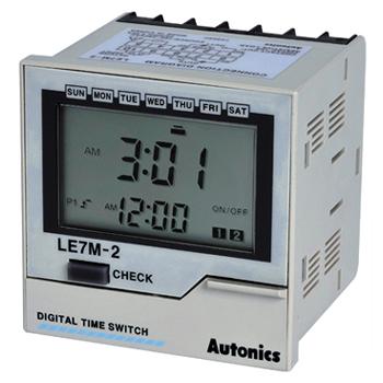 LE7M-2 Autonics Timer