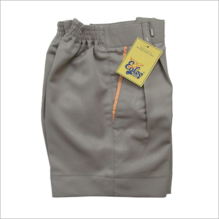 School Grey Half Pant