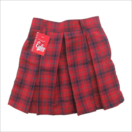 School Check Skirt