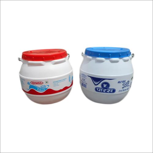 Plastic Dahi Containers