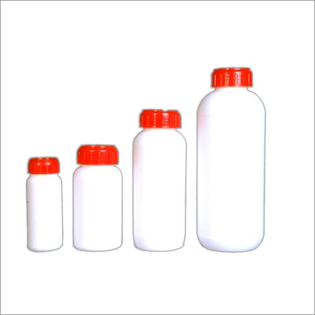 Round Pesticide Wider Neck Bottle