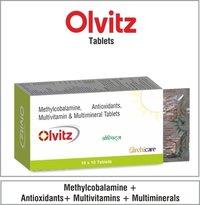 Vitamins+Minerals + Trace Elements Drops | Vitamins + minerals + Antioxidants Tablets