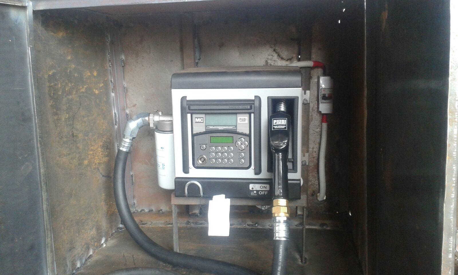 Piusi Cube-70 MC Fuel Dispensing Pump