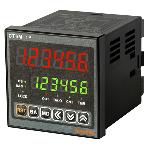 CT6S-2P2(24-48VDC/24VAC)Autonics Counter