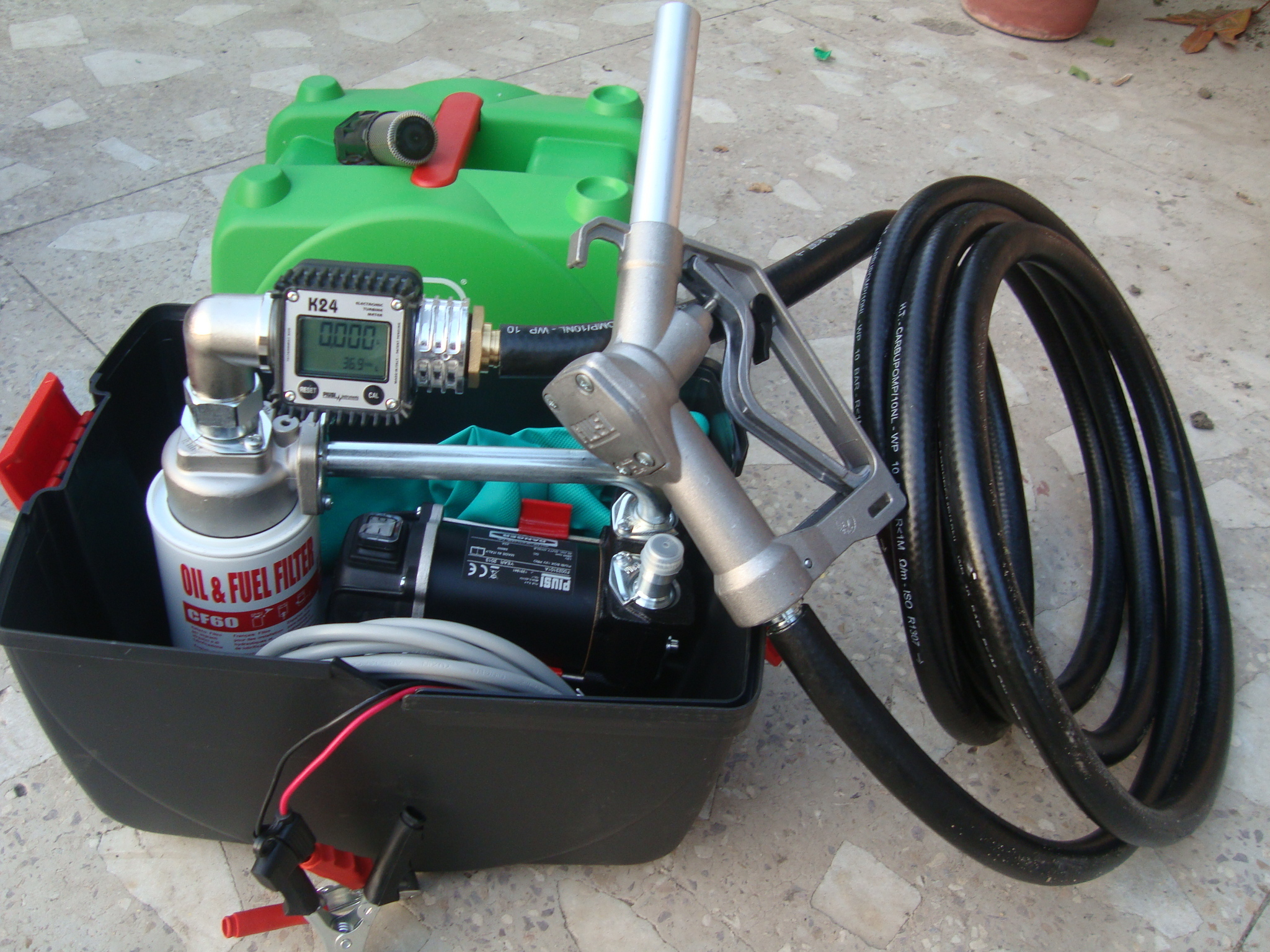 Piusi Box Fuel Dispensing Pump