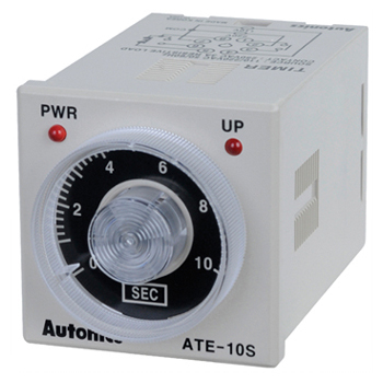 White Ate1-60S Autonic Analog Timer