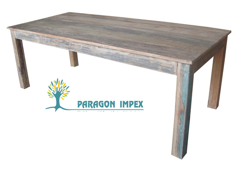 Reclaimed Wood Central Table