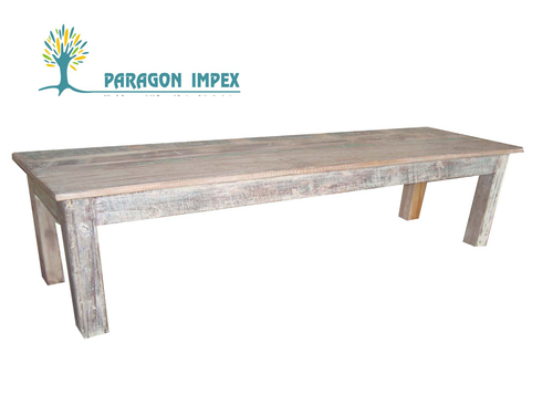 Reclaimed Wood Dining Bench