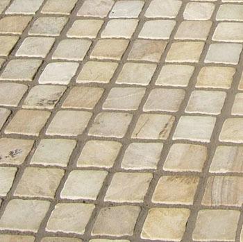 White Sandstone Cobble