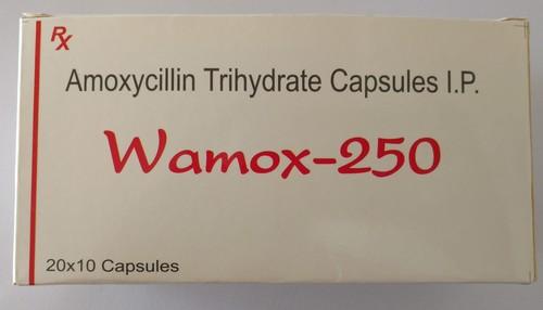Amoxycillin Trihydrate Capsulas IP