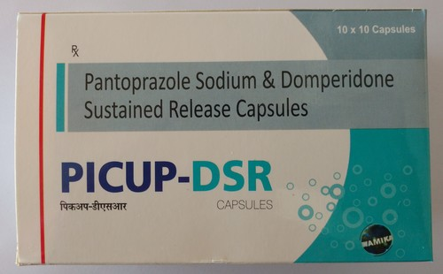 Pantoprazole Sodium & Domperidone Sustained Relese