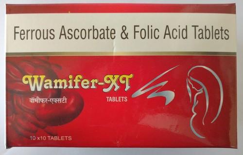 Ferrous Ascorbate & Folic Acid Tablets