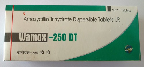 Amoxycillin Trihydrate Dispersible Capsulas IP