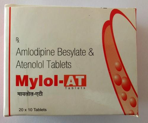 Amlodipine Besylate & Atnolol Tablets