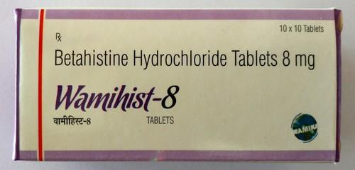 Betahistine Hydrochloride Tablets 8 mg