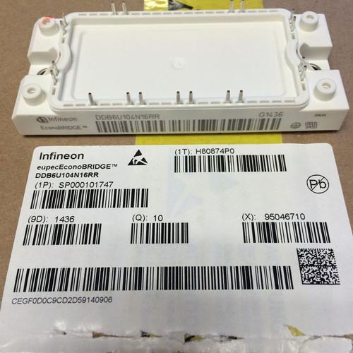INFINEON IGBTs Module DDB6U104N16RR