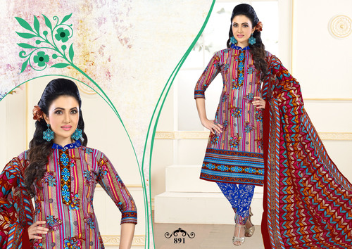 Designer Cotton Suits Catalog