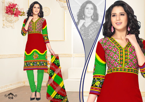 Cotton Salwar Kameez Materials