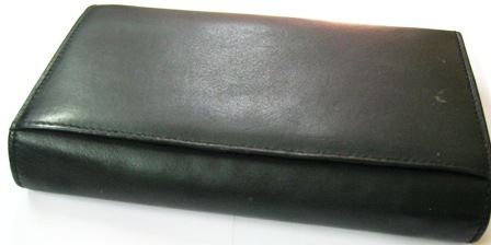 Plain Black Wallets