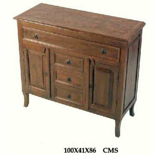 Sheesham  Furniture-Wood sideboard With Drawer