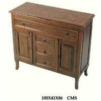 Sheesham  Furniture-Wood sideboard With Drawer