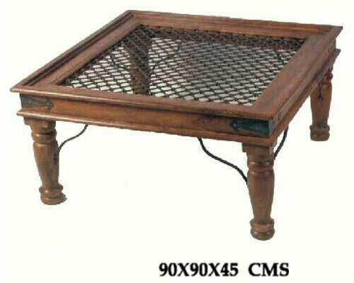 Royal Sheesham Jali Table