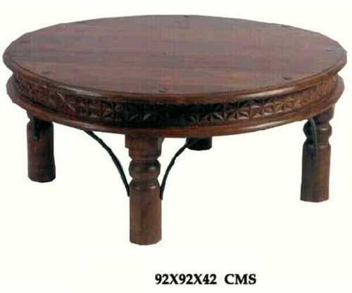 Royal Sheesham Round Table