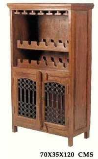 Royal Sheesham Wine Rack