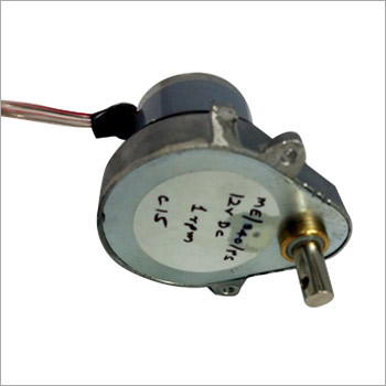 PMDC In Line Pear Shape Gear Motor