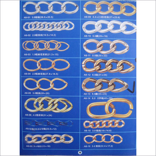 Stainless Steel Metallic Chains