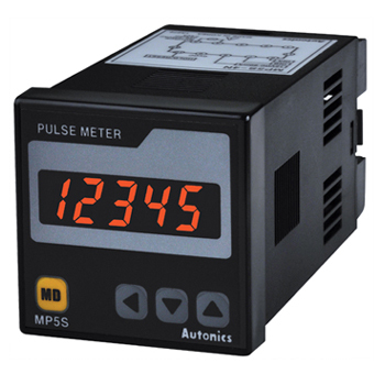 MP5W-44 (NPN+DC4-20MA) Autonics Pulse(Rates) Meter