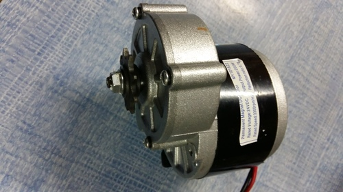 PMDC Battery Operated Gear Motor