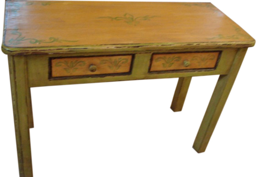 Painted Furniture-CONSOLE TABLES