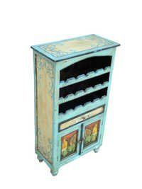 Painted Furniture-Bar Cabinet