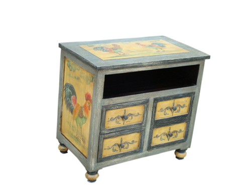 Painted Furniture-CHEST OF DRAWERS