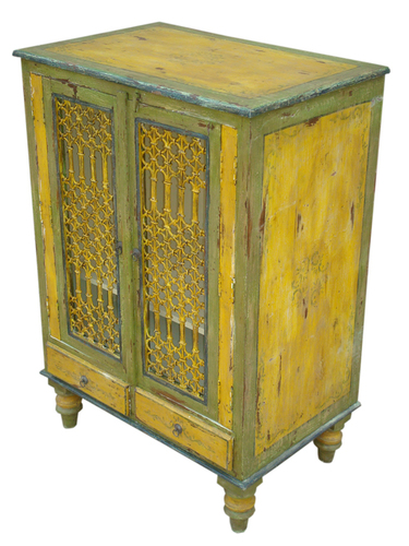 Painted Furniture-sideboard with jali